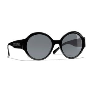 ROUND CHANEL SUNGLASSES